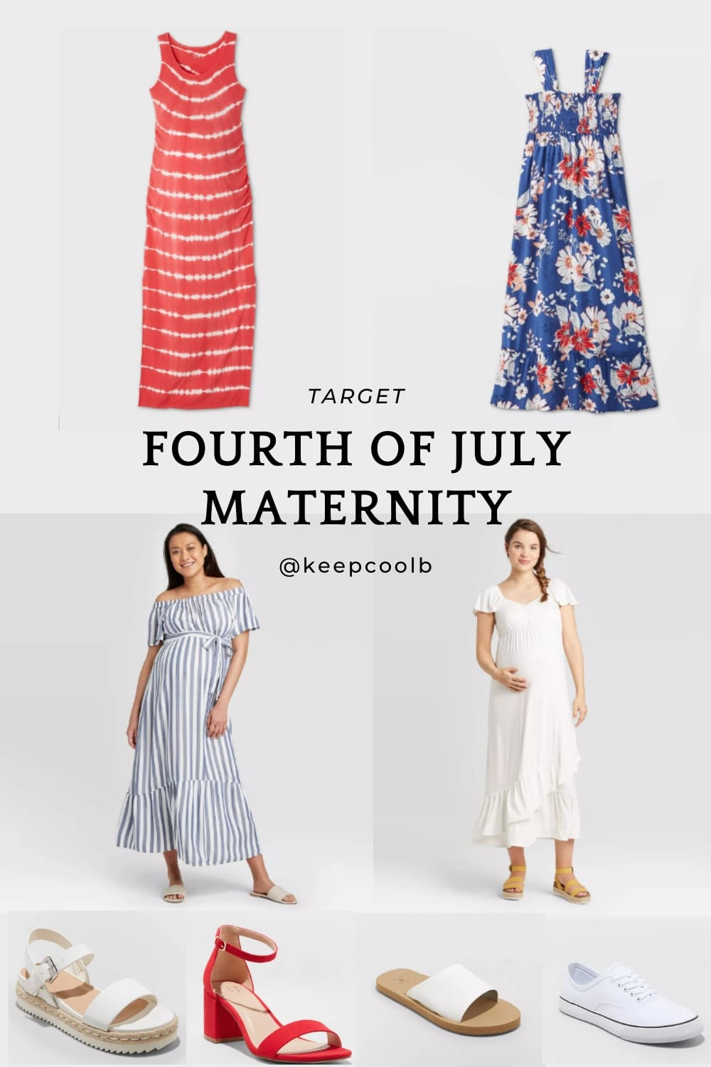 4th Of July Maternity Outfit Roundup Keep Cool B